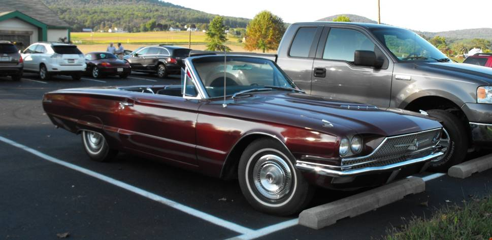 1966 Ford Thunderbird Convertible. 1966 Ford Thunderbird